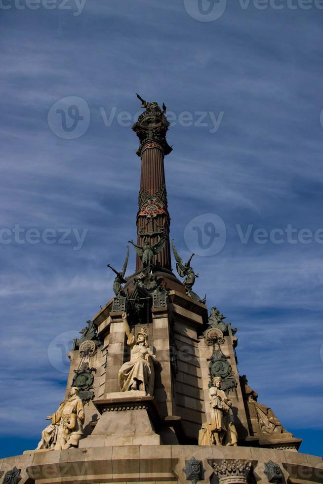 monument en kolon foto
