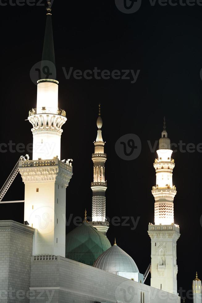 profeten muhammed heliga moskén i medina, ksa foto