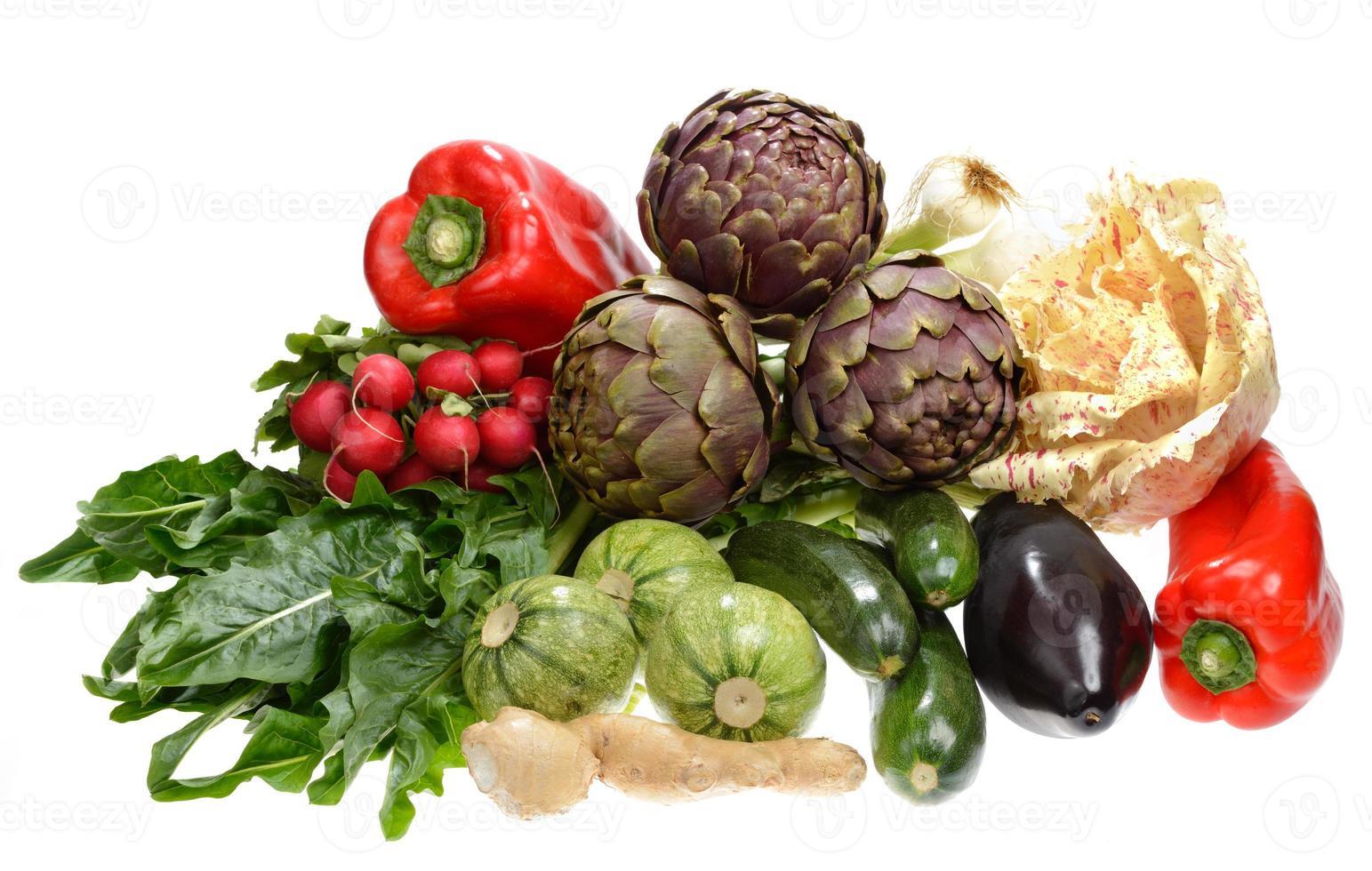 blandade grönsaker foto