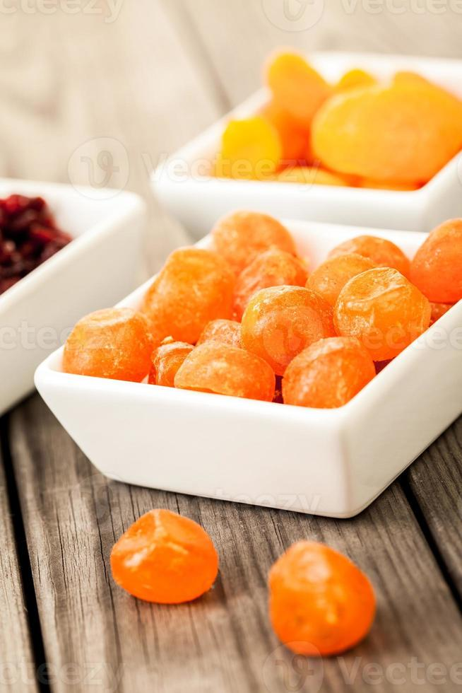 torkad frukt foto
