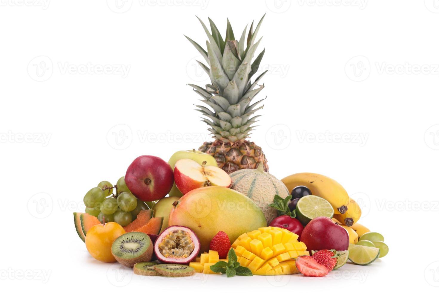 frukt isolerade foto