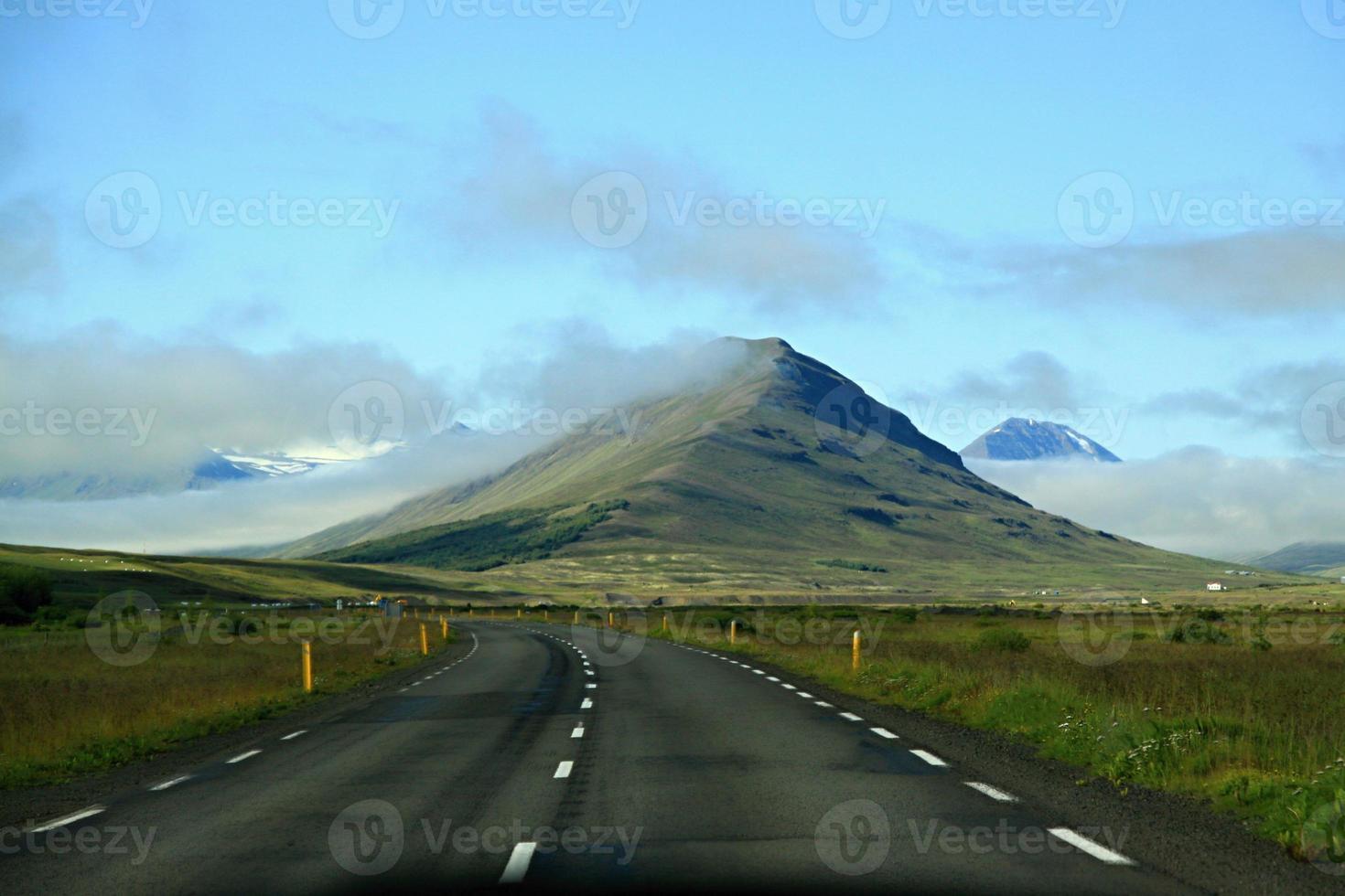 Island landskap foto
