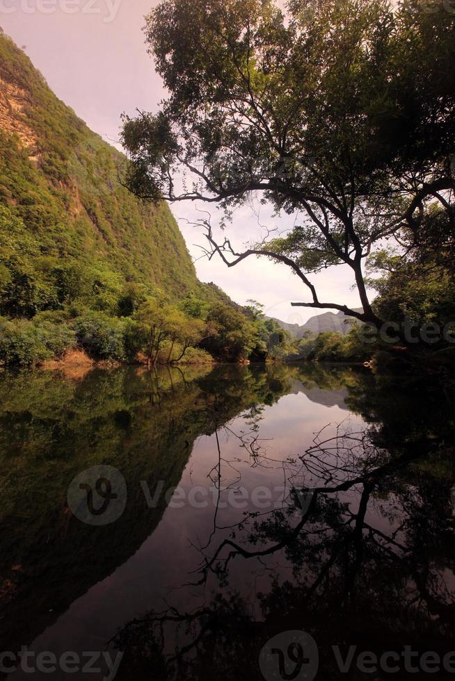 asien lao tha khaek landskap foto