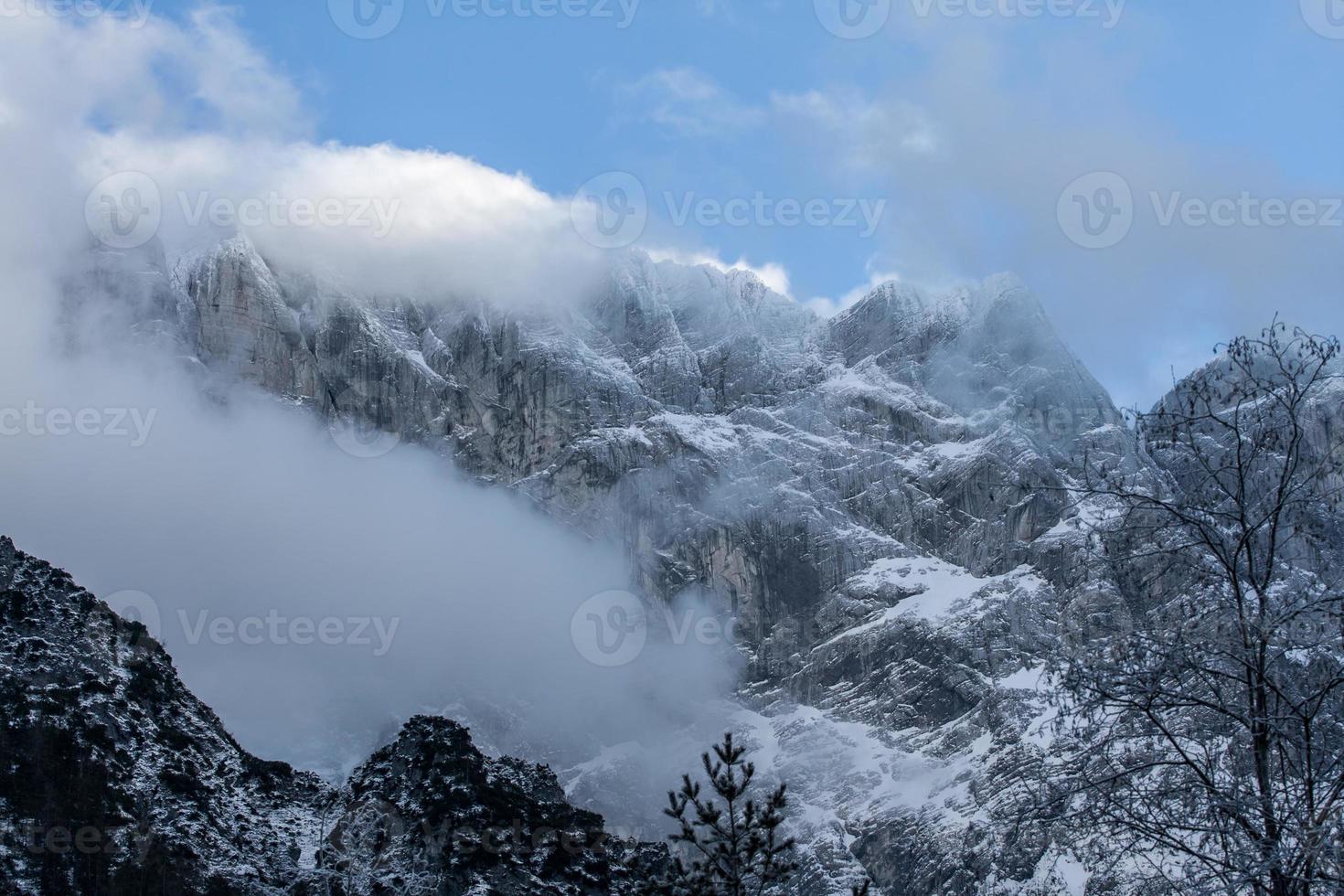 vinter alperna foto