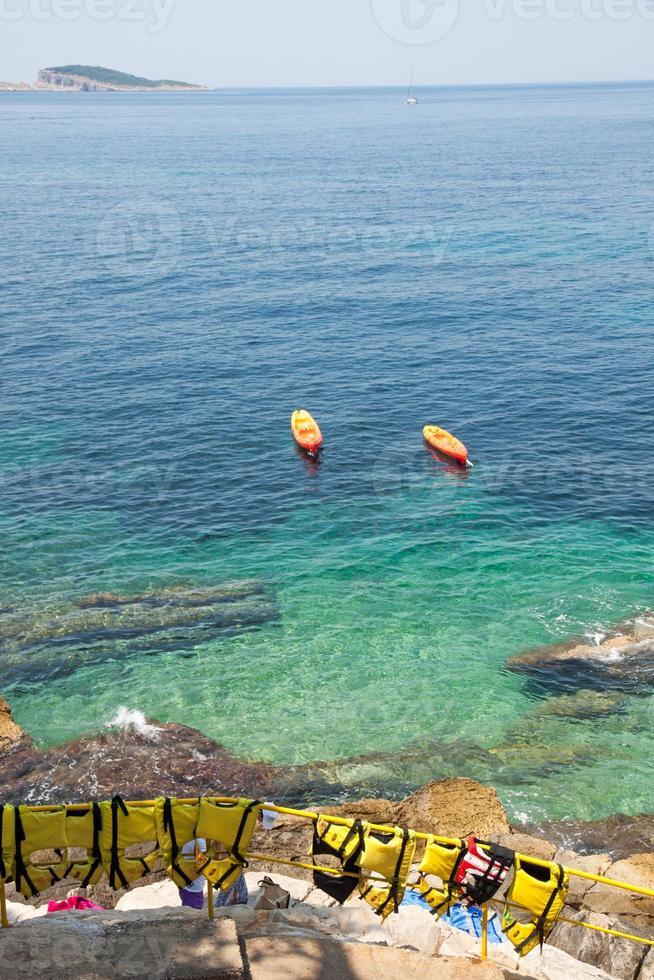 kroatiska kusten foto