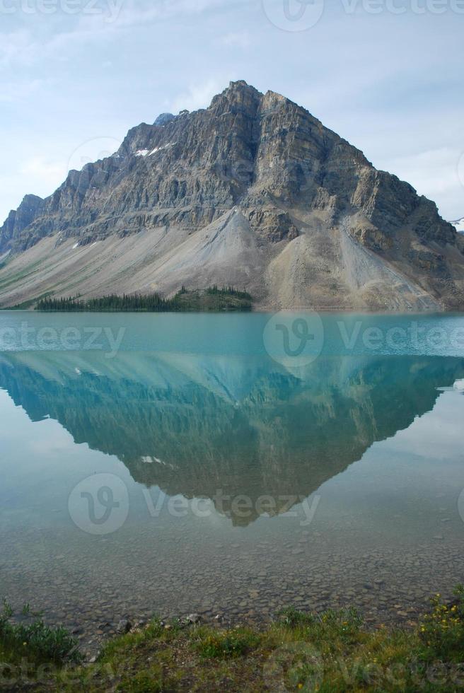 bergsreflektion foto