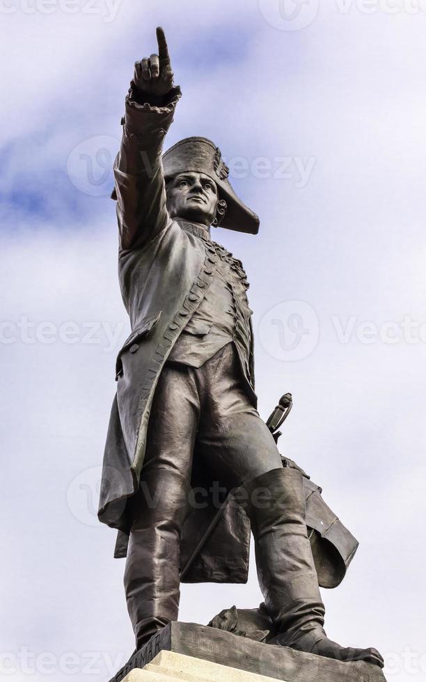 allmän Rochambeau staty lafayette park höst Washington DC foto