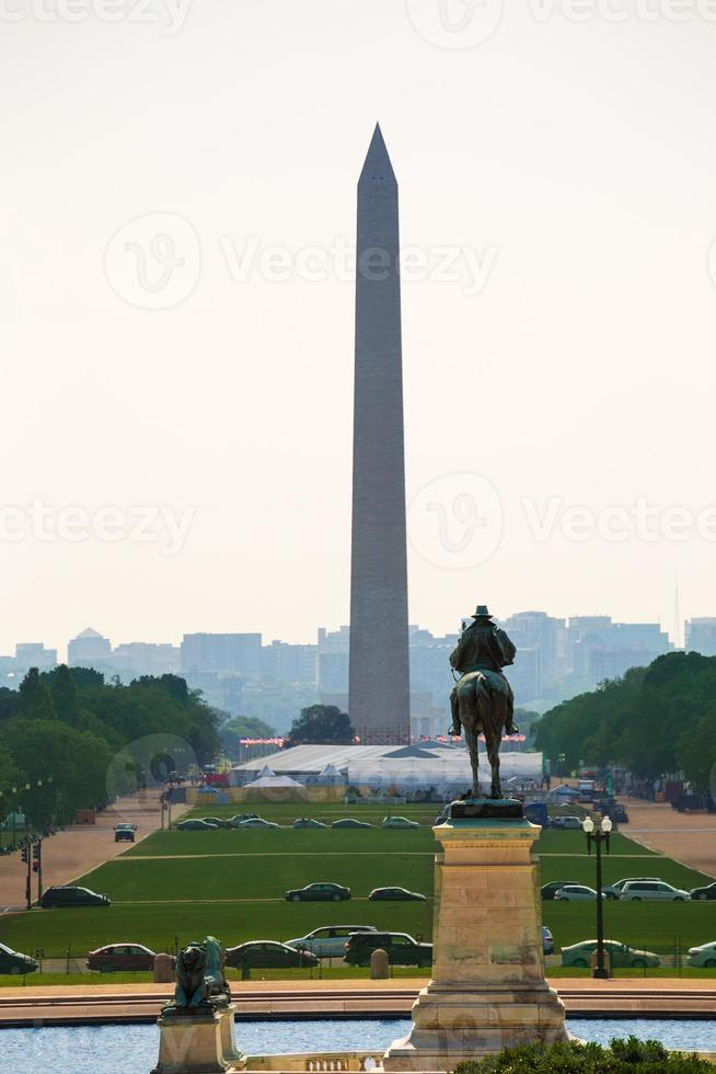 Washington DC National Mall från Capitol foto