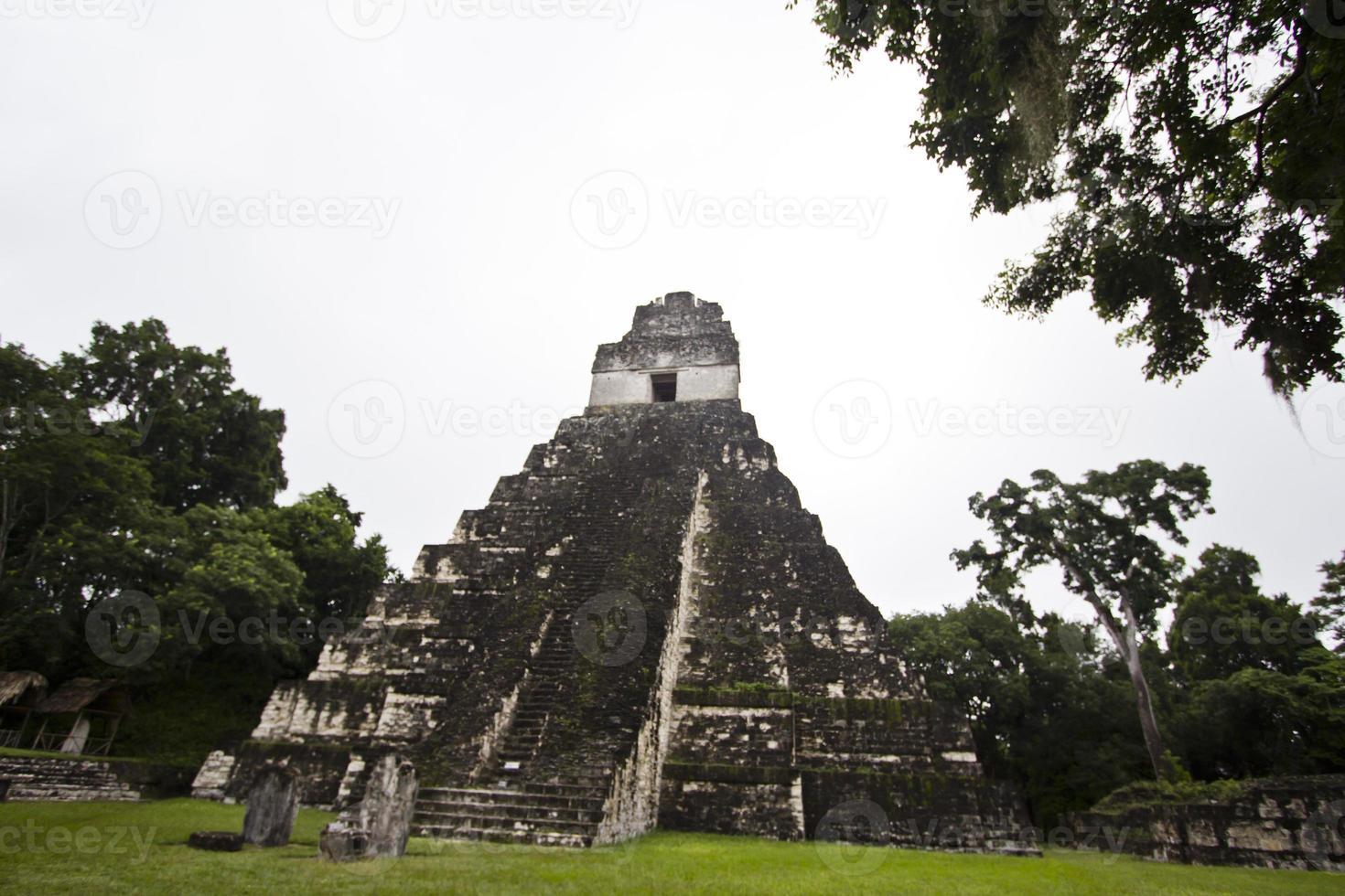 tikels tempel foto