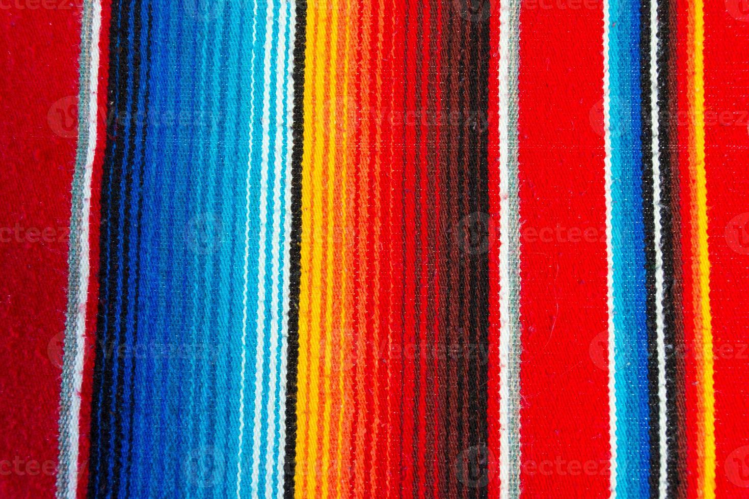 mexikansk poncho foto