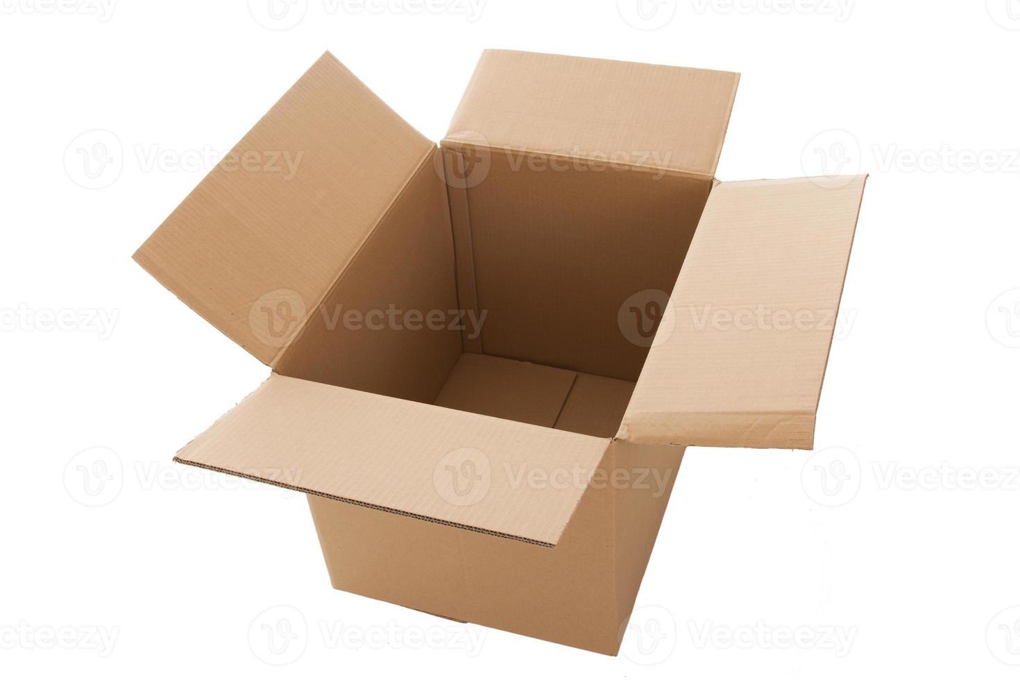 kartong låda foto