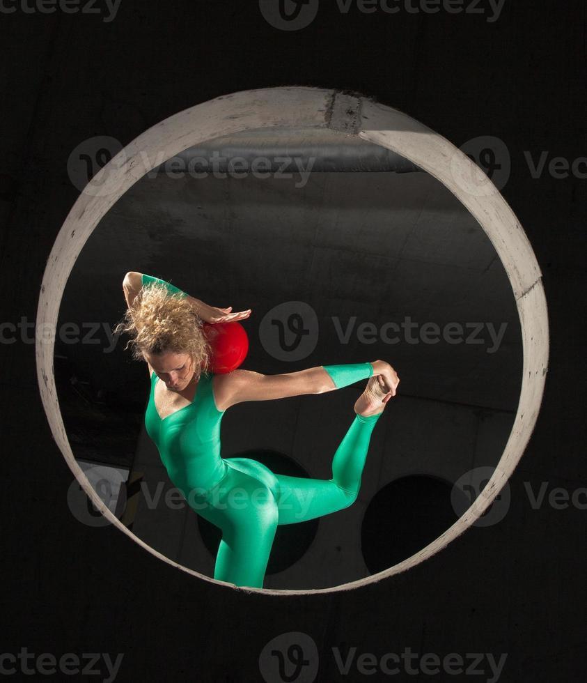 Rytmisk gymnastik foto