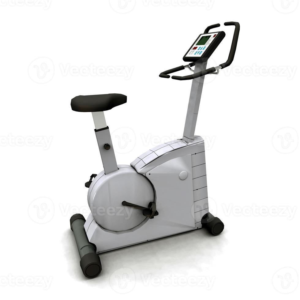 träningscykel foto