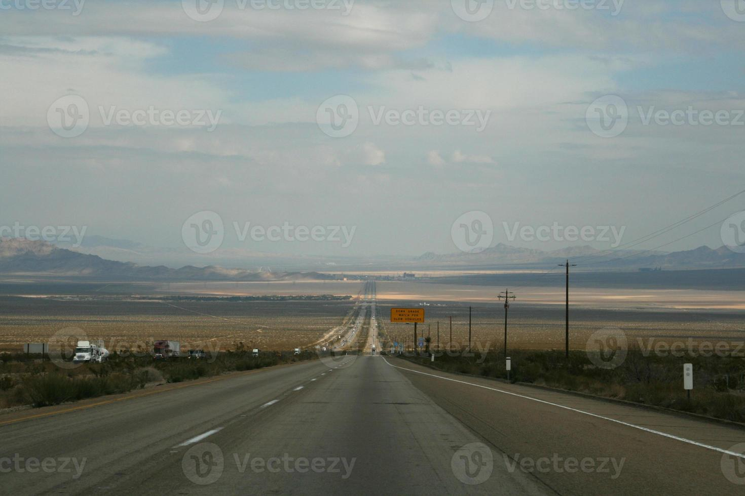 motorvägen till vegas foto