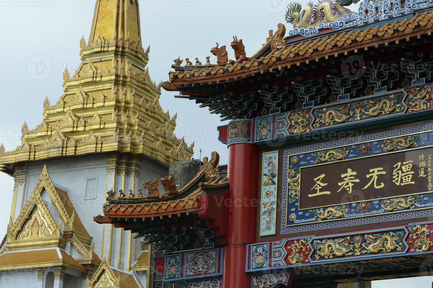 Thailand bangkok Kina stad foto