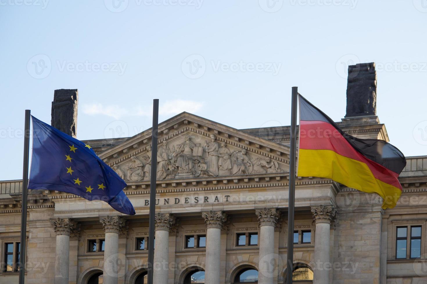 bundesrat - federala rådet, Berlin, Tyskland foto
