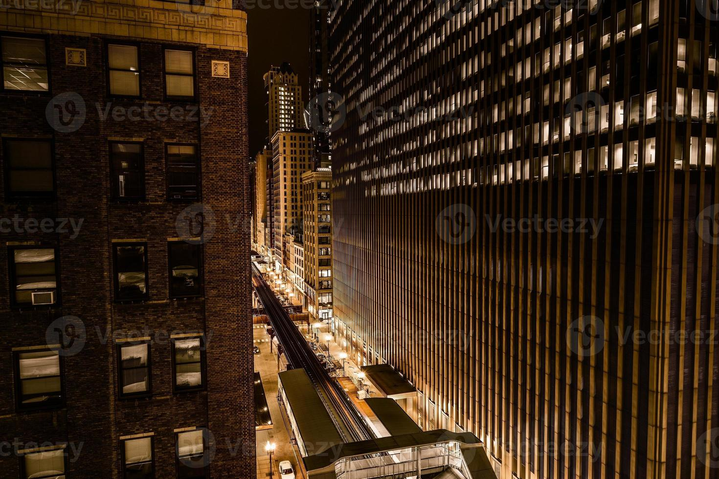 mur av chicago foto
