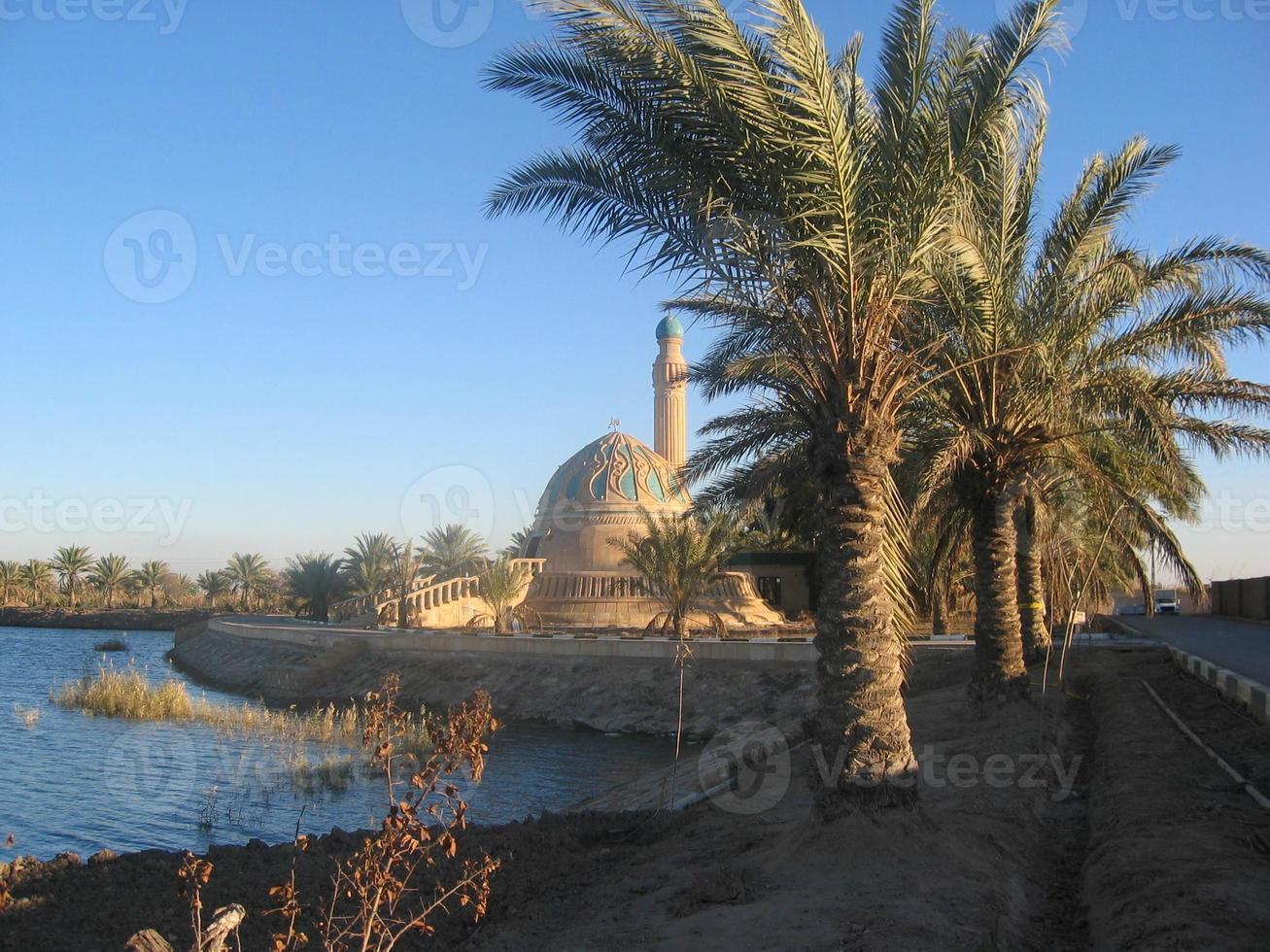 liten moské i irak foto