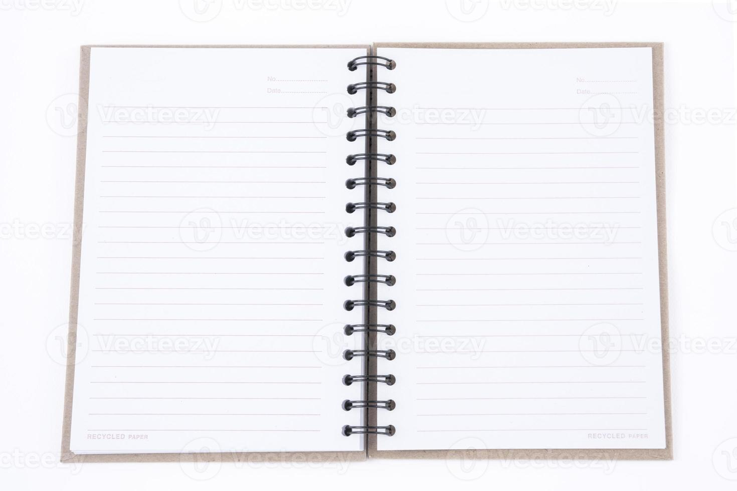 anteckningsbok foto