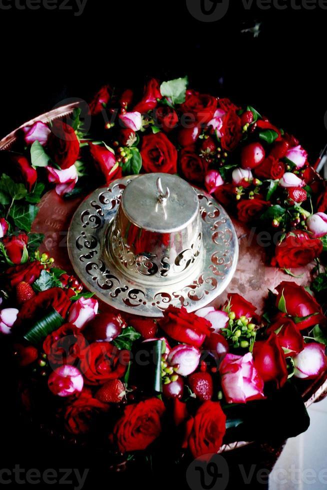 bröllop henna tradition kalkon foto