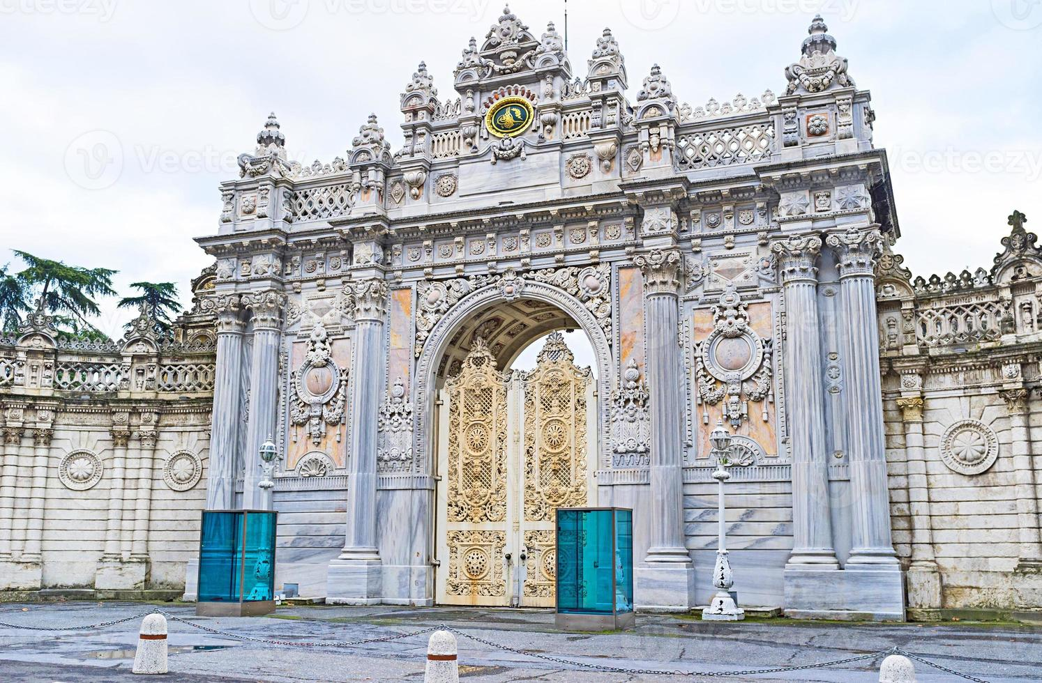 den natursköna porten foto