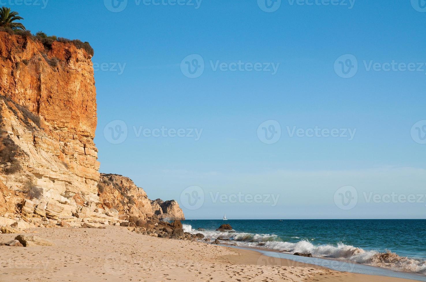 strand i algarve, Portugal foto