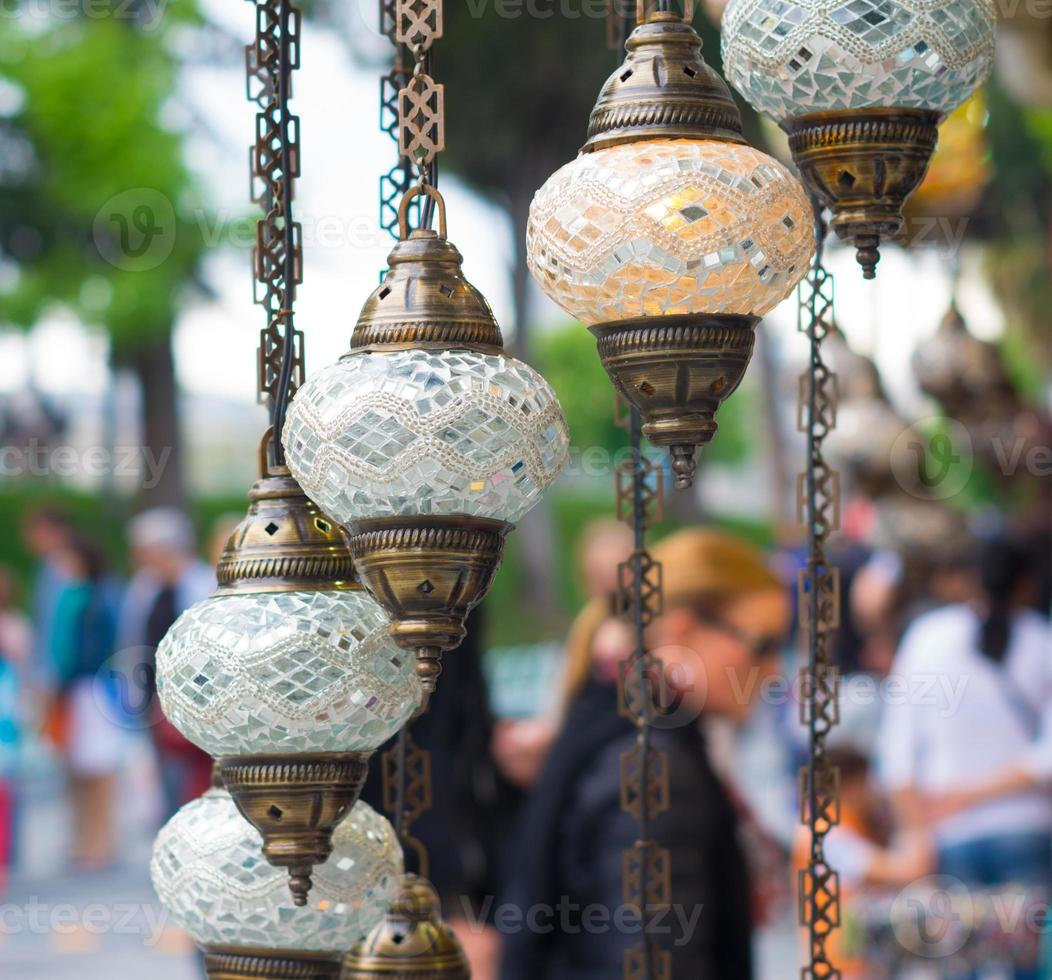 turkiska lyktor foto