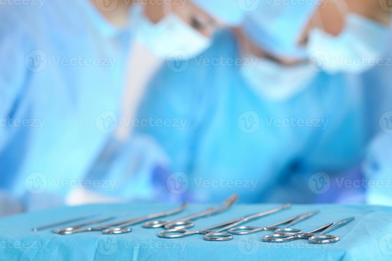 kirurgi och akutkoncept foto