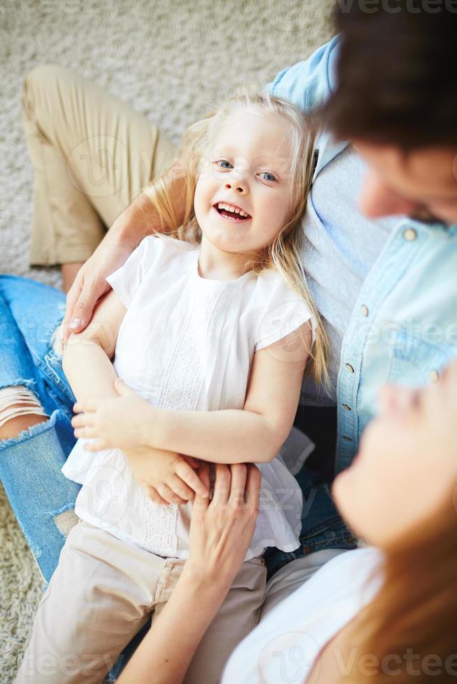 glad dotter foto