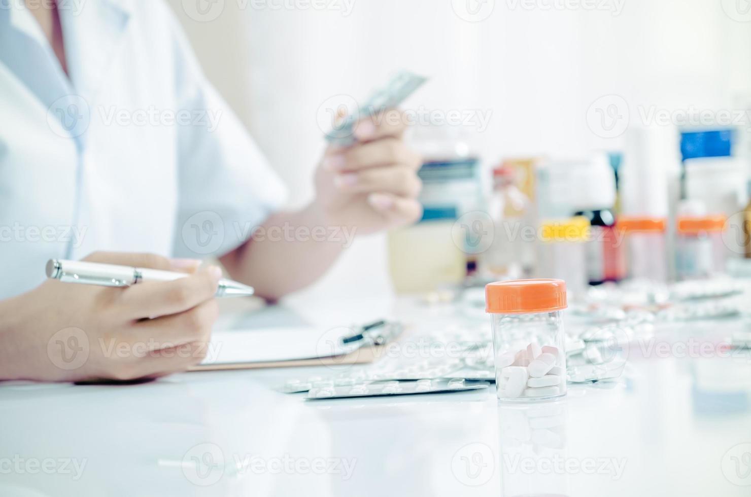 läkemedelsaffär foto