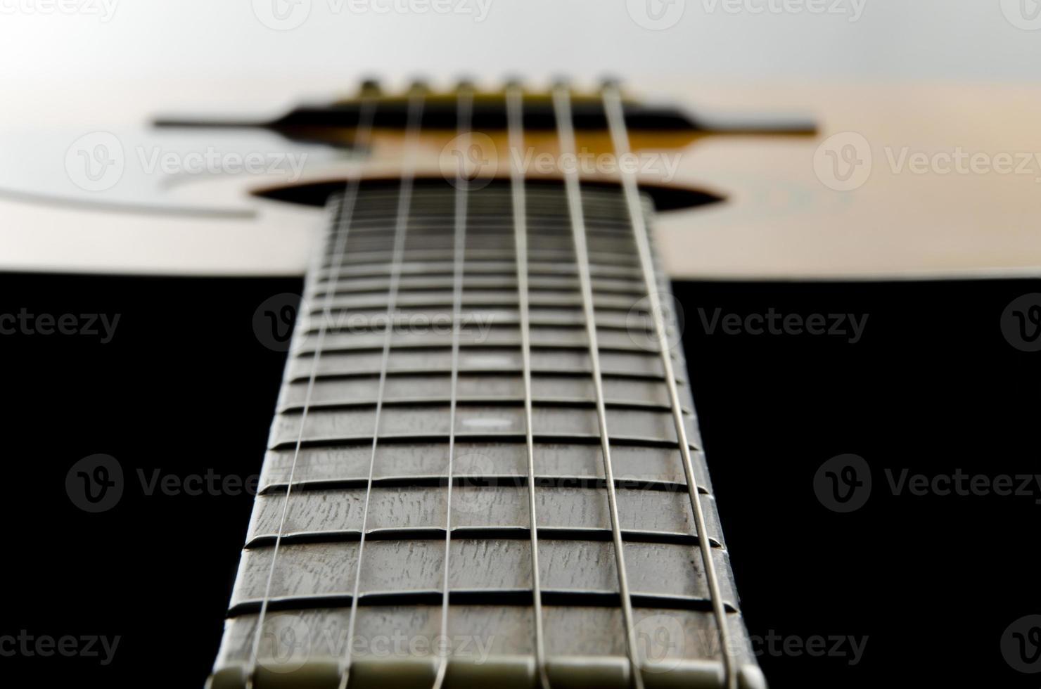 gitarr på nära håll foto