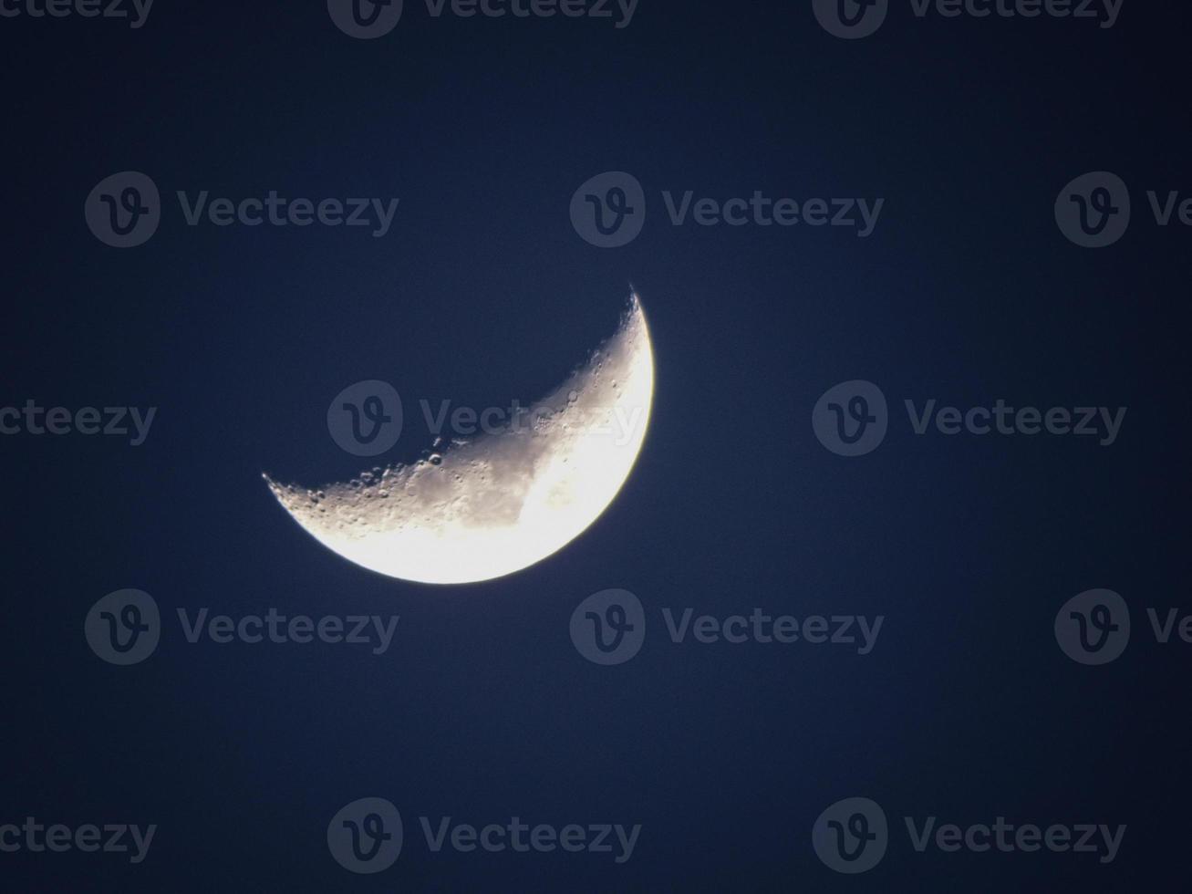 närbild av månen foto