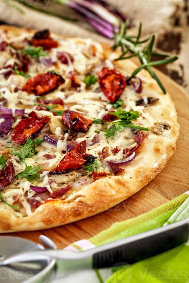 italiensk pizza foto