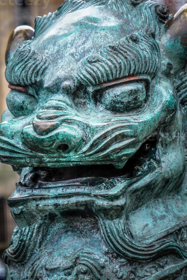 kinesiska lejon foto