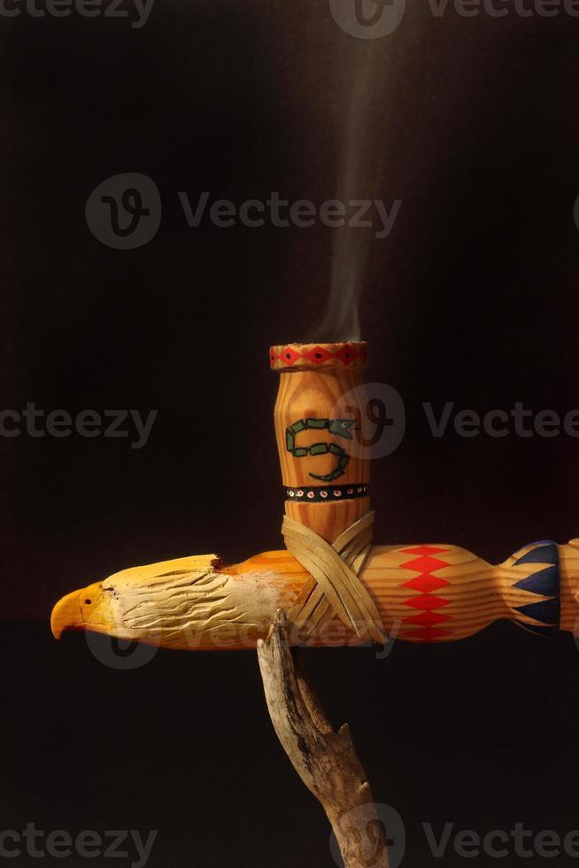 rökning fredsrör foto