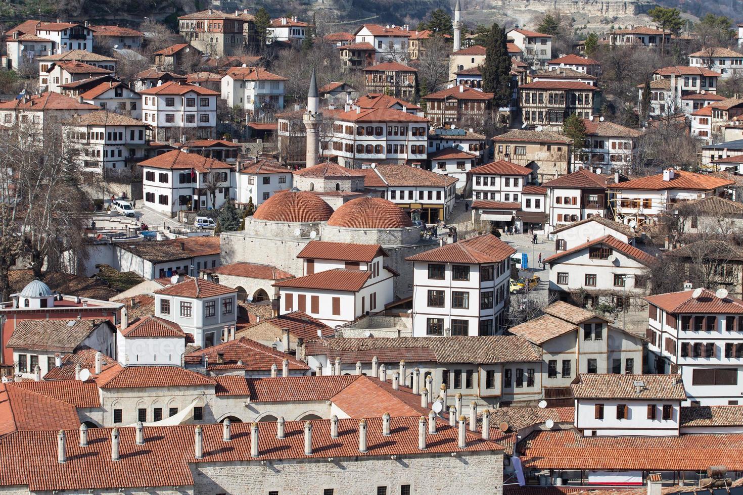 safranbolu stad, Turkiet foto