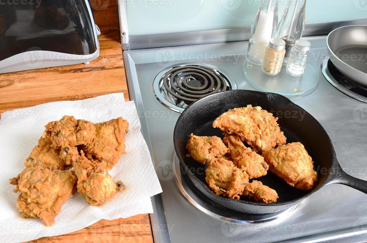 stekt kyckling foto