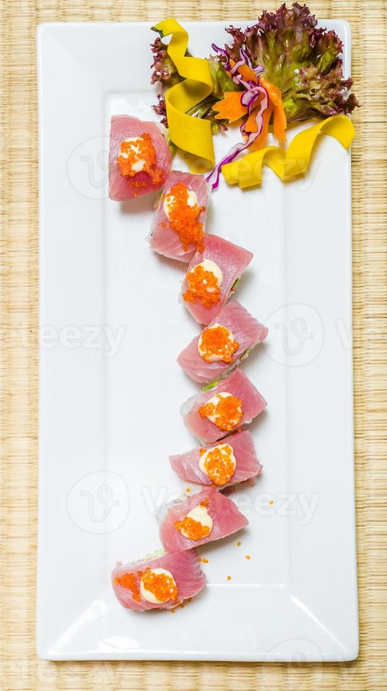 tonfisk sushi foto