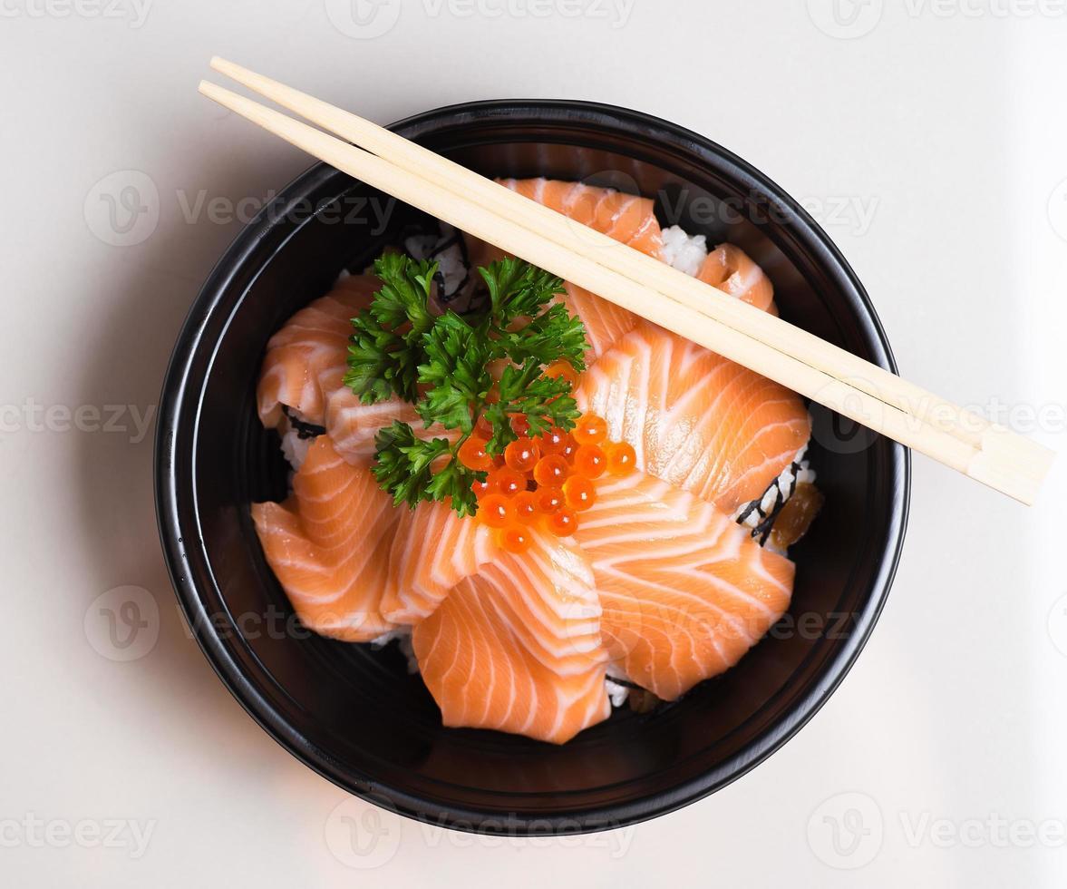 sushi, japansk matstil. foto