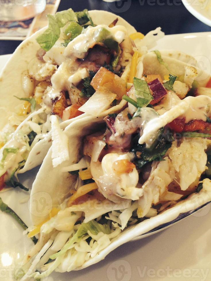 fisk tacos foto