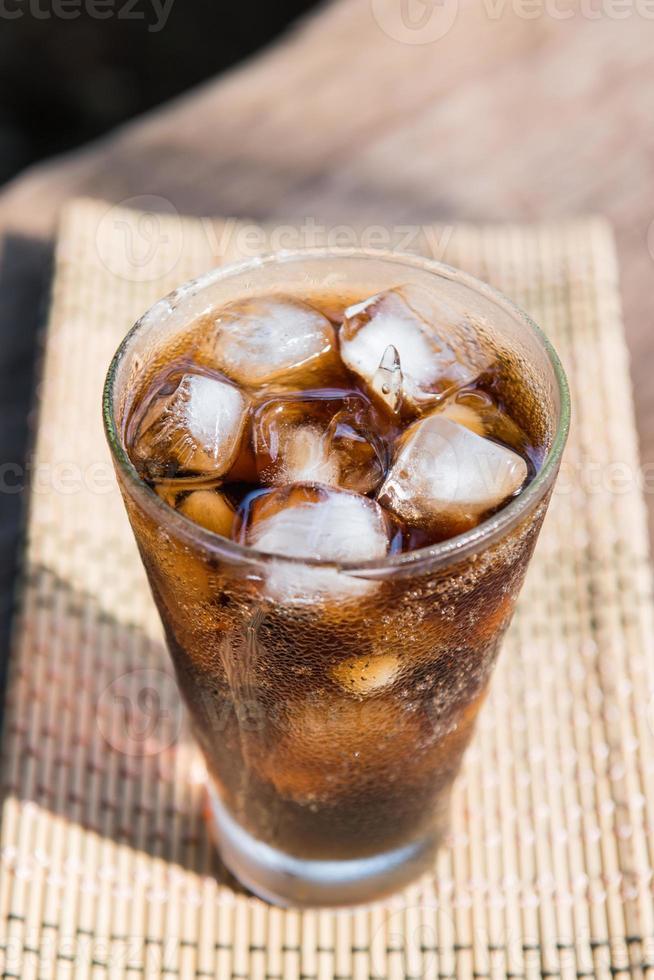 kall cola mest populära gnistvatten foto