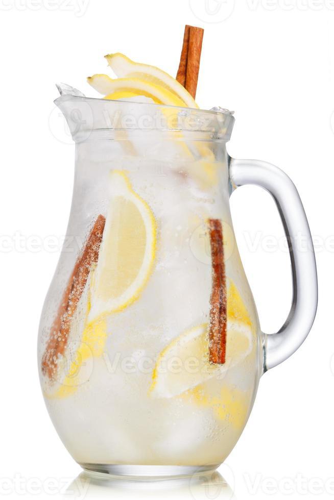 citron kanel limonad foto