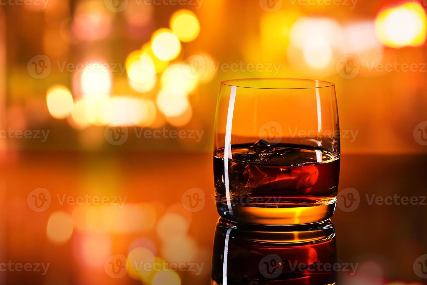 whisky med is foto