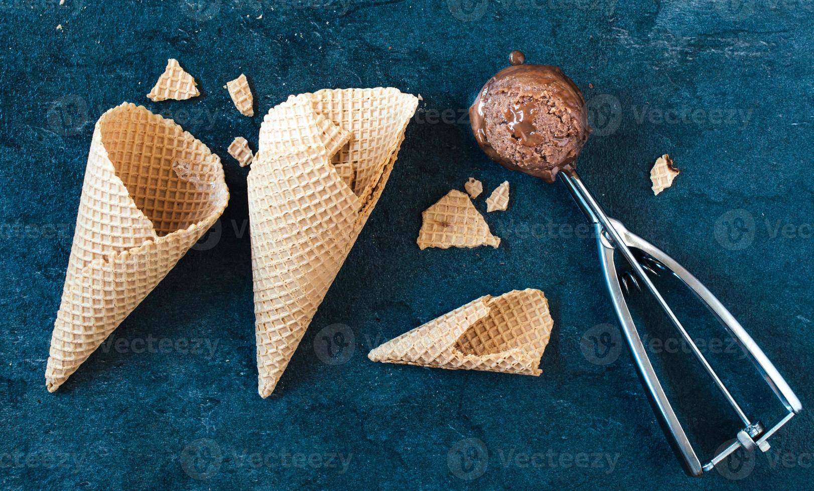chokladglass foto
