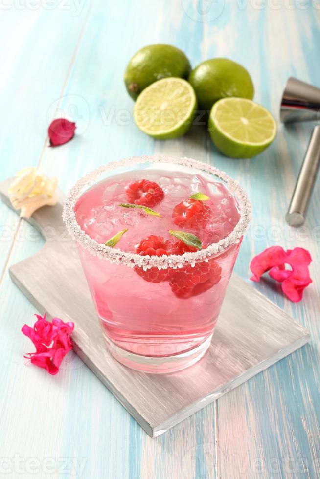 färgstark cocktail foto