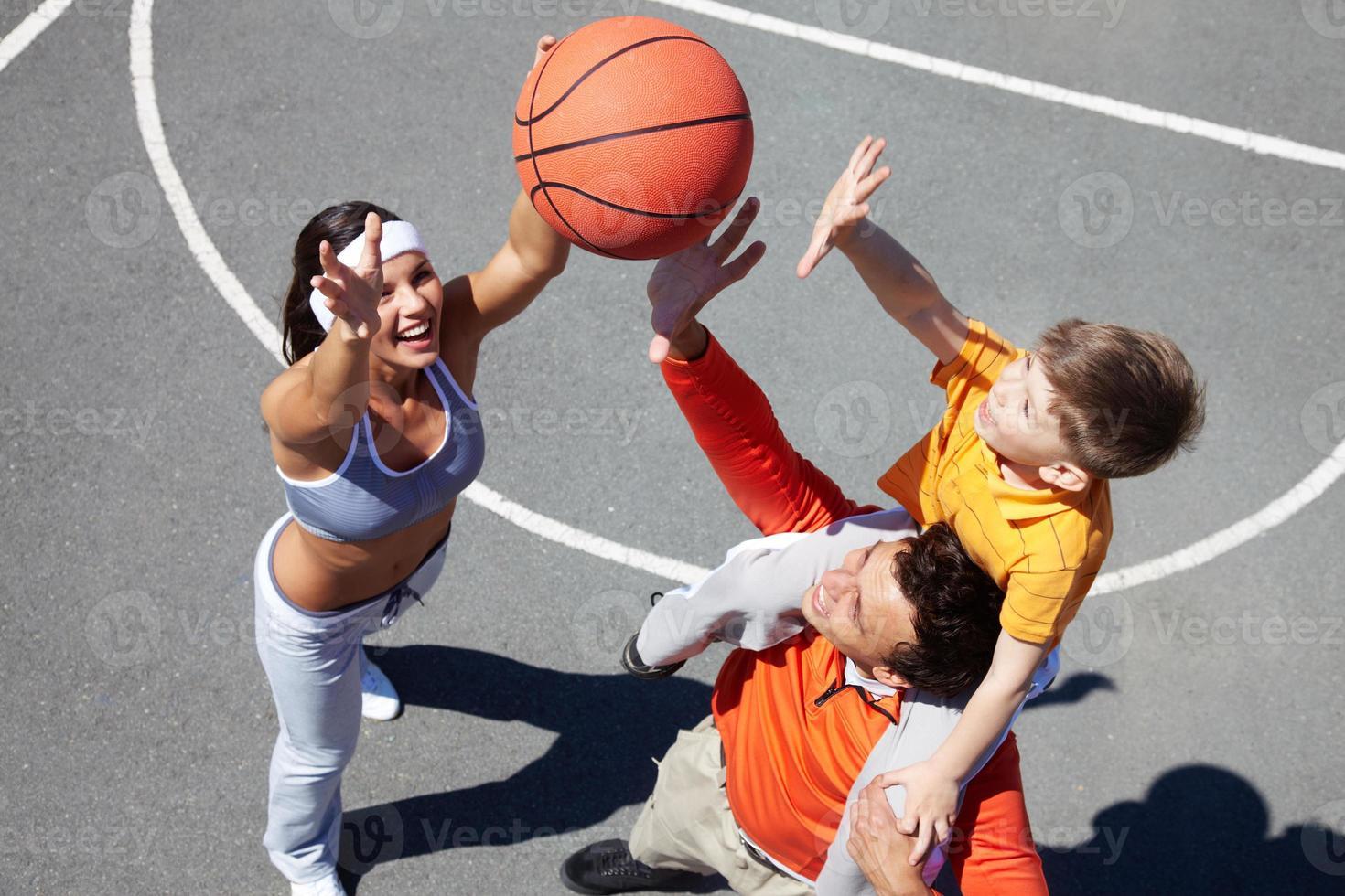 fånga bollen! foto