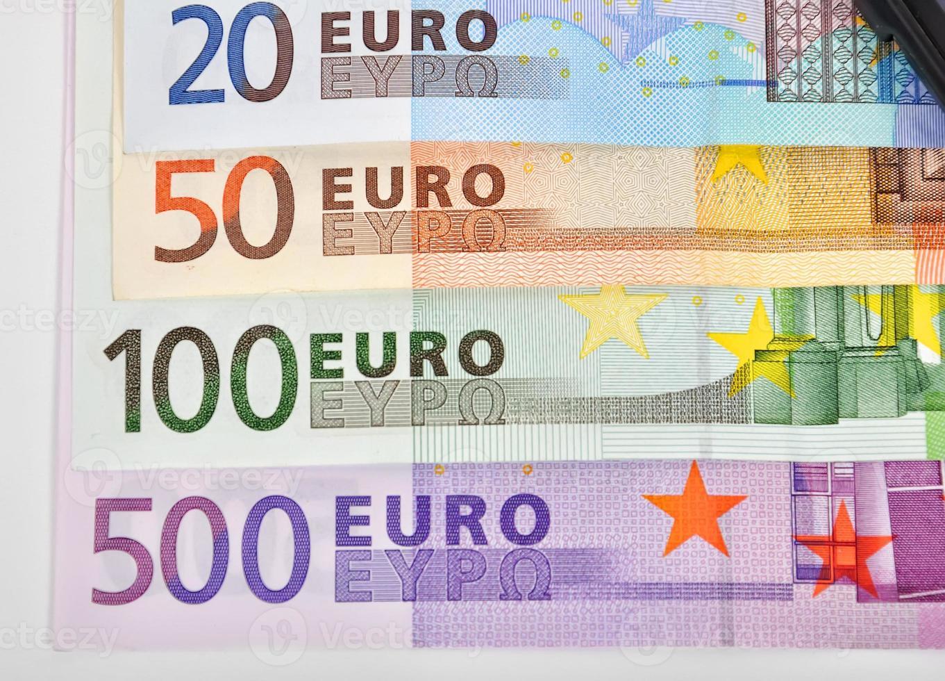 eurosedlar foto