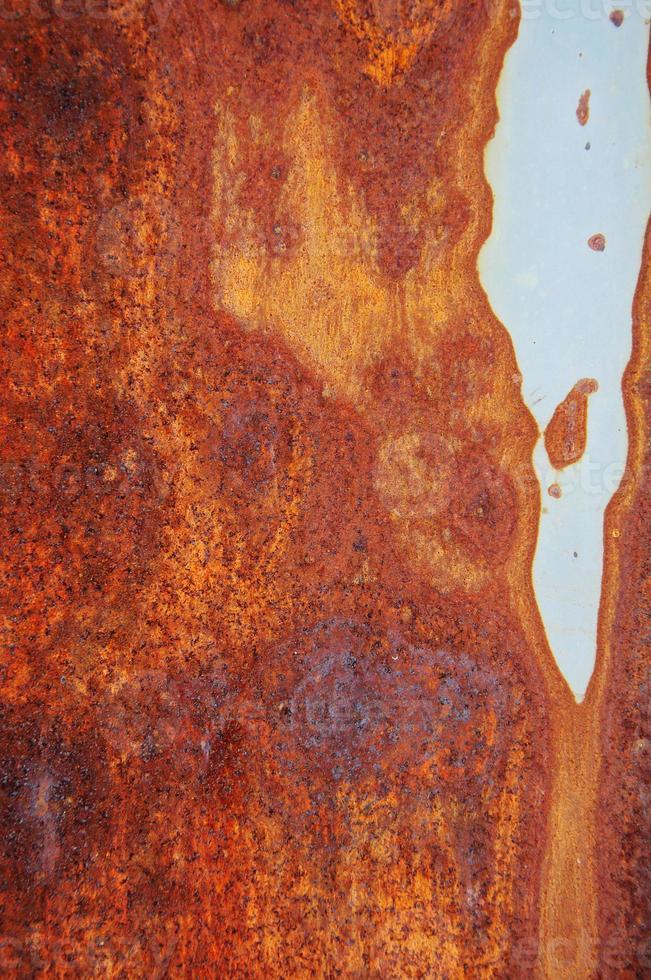 närbild av grunge rostig bakgrund foto