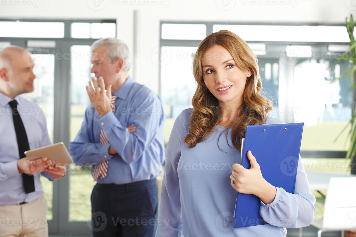 affärskvinna porträtt foto