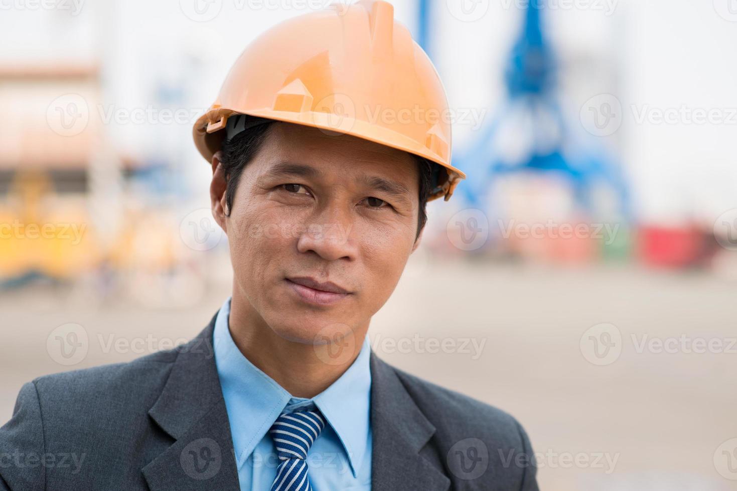 vietnamesisk inspektör foto